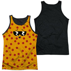 Uncle Grandpa - Pizza Face Adult Tank Top