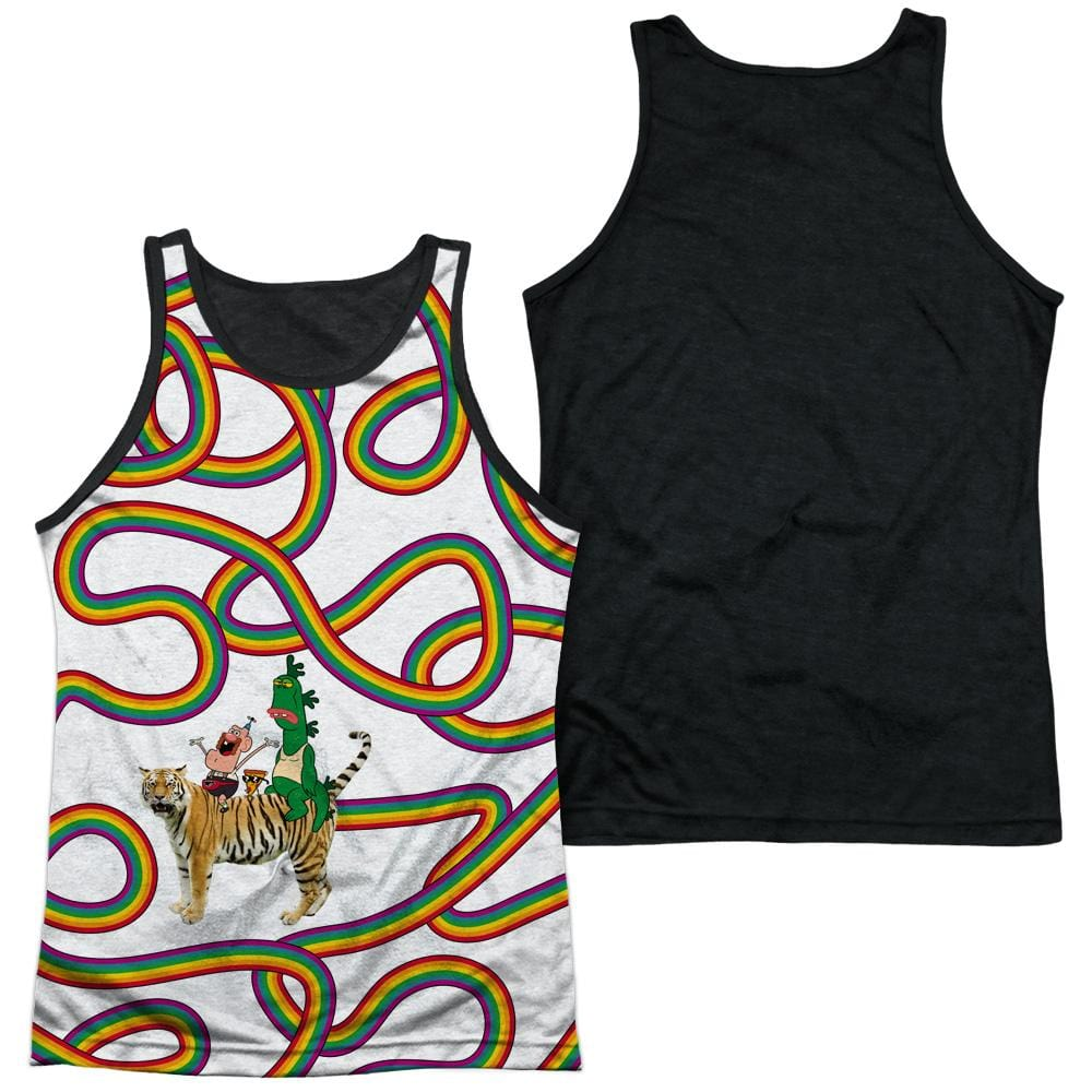 Uncle Grandpa - Rainbows Adult Tank Top