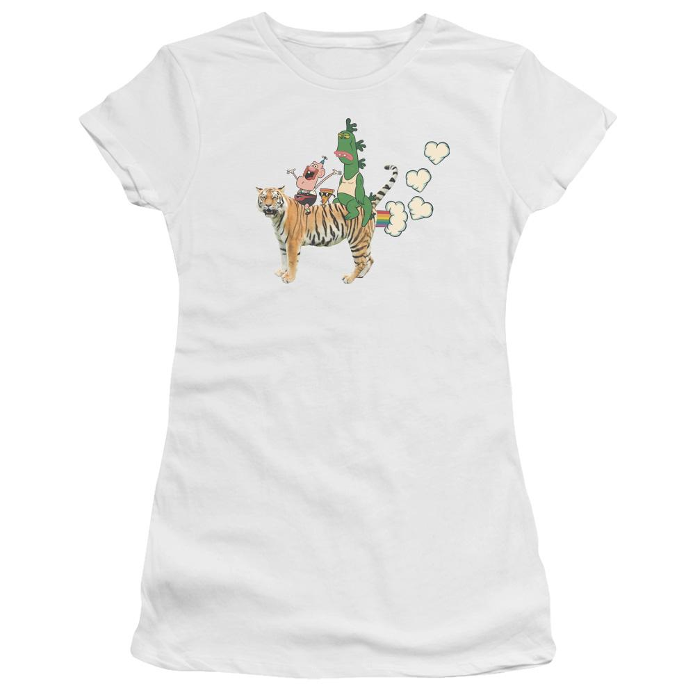 Uncle Grandpa - Fart Hearts Junior T-Shirt