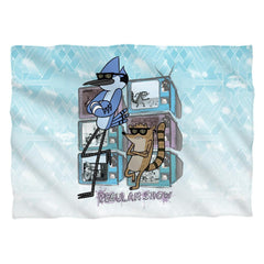 Regular Show Tv Too Cool Pillow Case