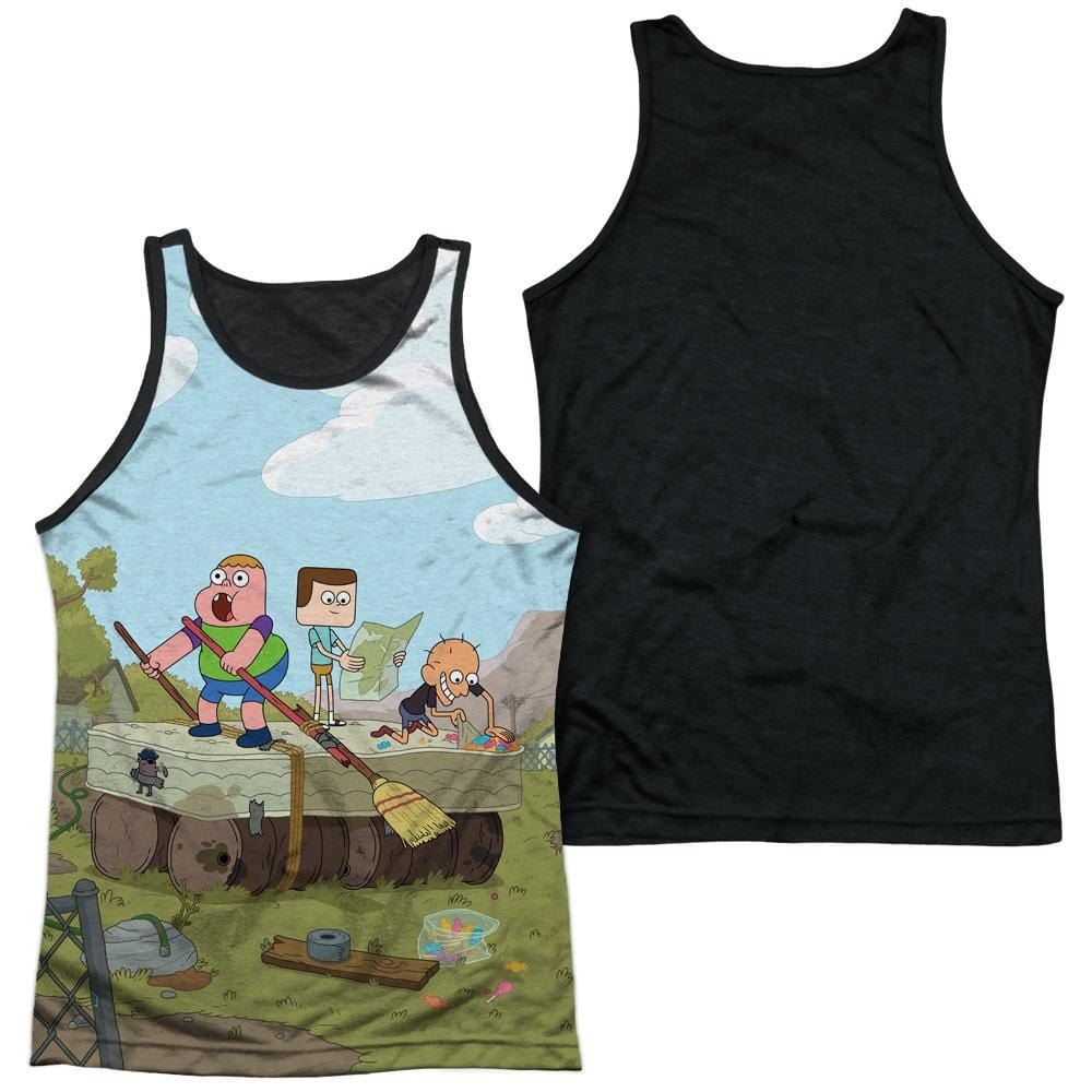 Clarence - Boat Adult Tank Top