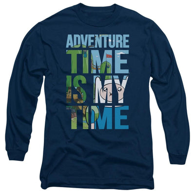 Adventure Time My Time Men's Long Sleeve T-Shirt
