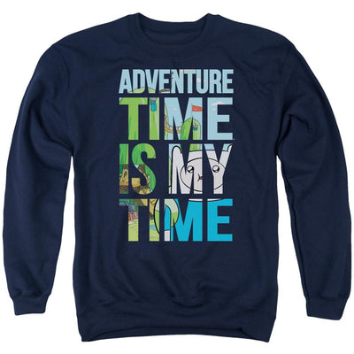 Adventure Time My Time Men's Crewneck Sweatshirt