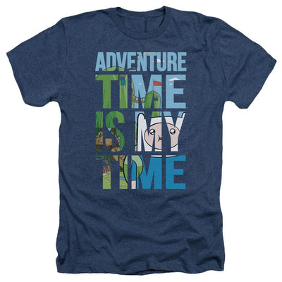 Adventure Time My Time Men's Heather T-Shirt
