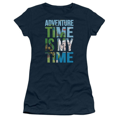 Adventure Time My Time Juniors T-Shirt