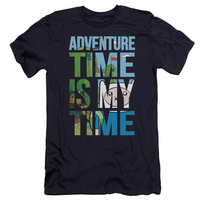 Adventure Time My Time Men's Premium Slim Fit T-Shirt