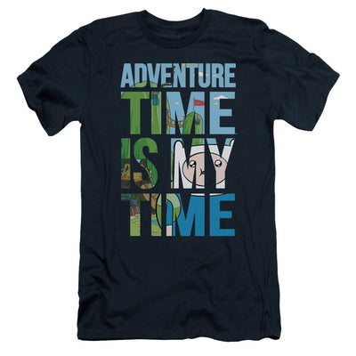 Adventure Time My Time Men's Slim Fit T-Shirt