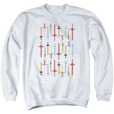Adventure Time Swords Men's Crewneck Sweatshirt