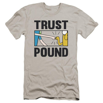 Adventure Time Trust Pound Men's Premium Slim Fit T-Shirt