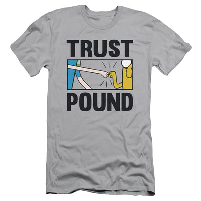Adventure Time Trust Pound Men's Slim Fit T-Shirt