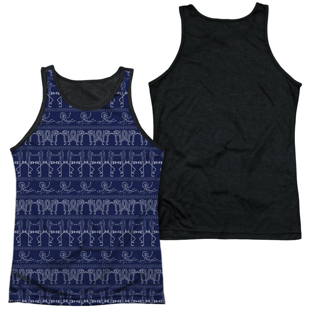 Regular Show - Rs Pattern Adult Tank Top