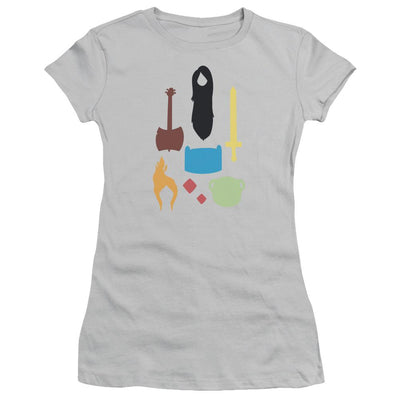 Adventure Time Icons Juniors T-Shirt