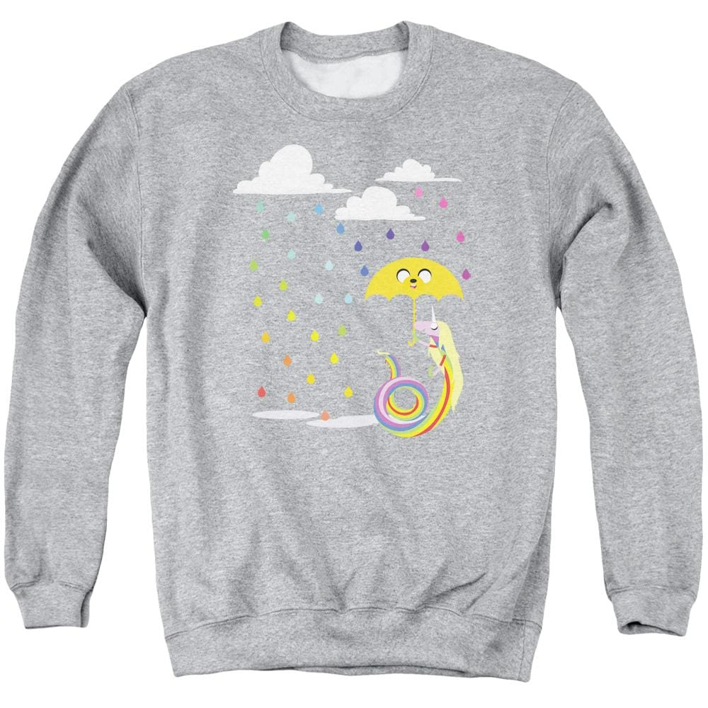 Adventure Time - Lady In The Rain Adult Crewneck Sweatshirt