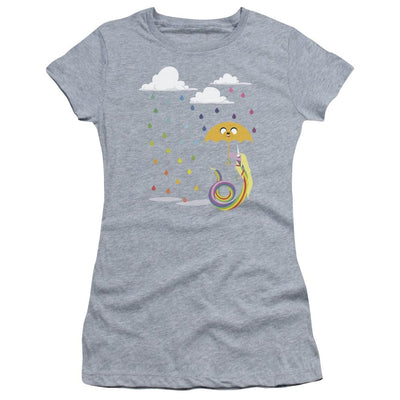 Adventure Time Lady In The Rain Juniors T-Shirt