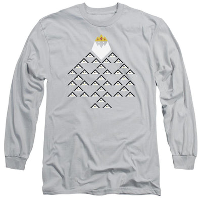 Adventure Time Ice King Triangle Men's Long Sleeve T-Shirt