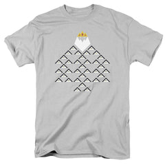 Adventure Time - Ice King Triangle Adult Regular Fit T-Shirt