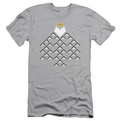Adventure Time Ice King Triangle Men's Slim Fit T-Shirt
