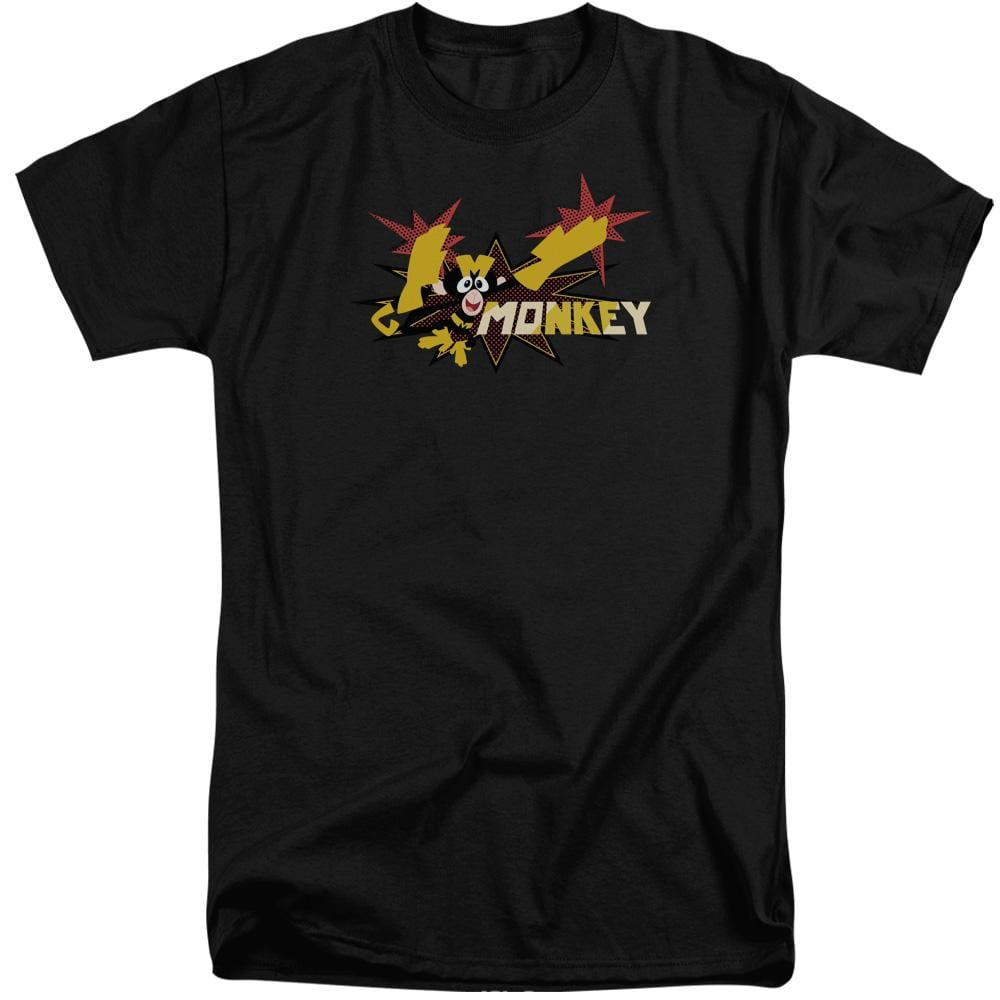 Dexters's Laboratory Monkey Adult Tri-Blend T-Shirt