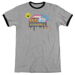 Amazing World Of Gumball - Sunshine Adult Ringer T- Shirt