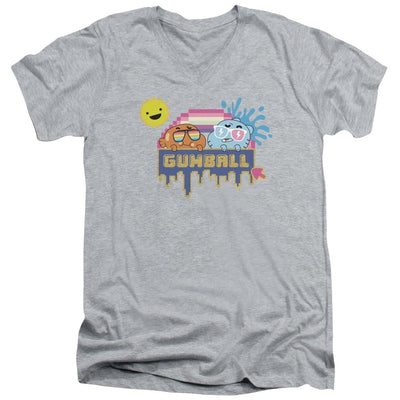 The Amazing World Of Gumball Sunshine Men's V-Neck T-Shirt