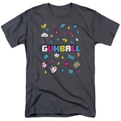 Amazing World Of Gumball - Fun Drops Adult Regular Fit T-Shirt