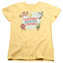 Steven Universe - Crying Breakfast Friends Women's T-Shirt