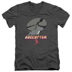 Steven Universe - Dogcopter 3 Adult V-Neck T-Shirt