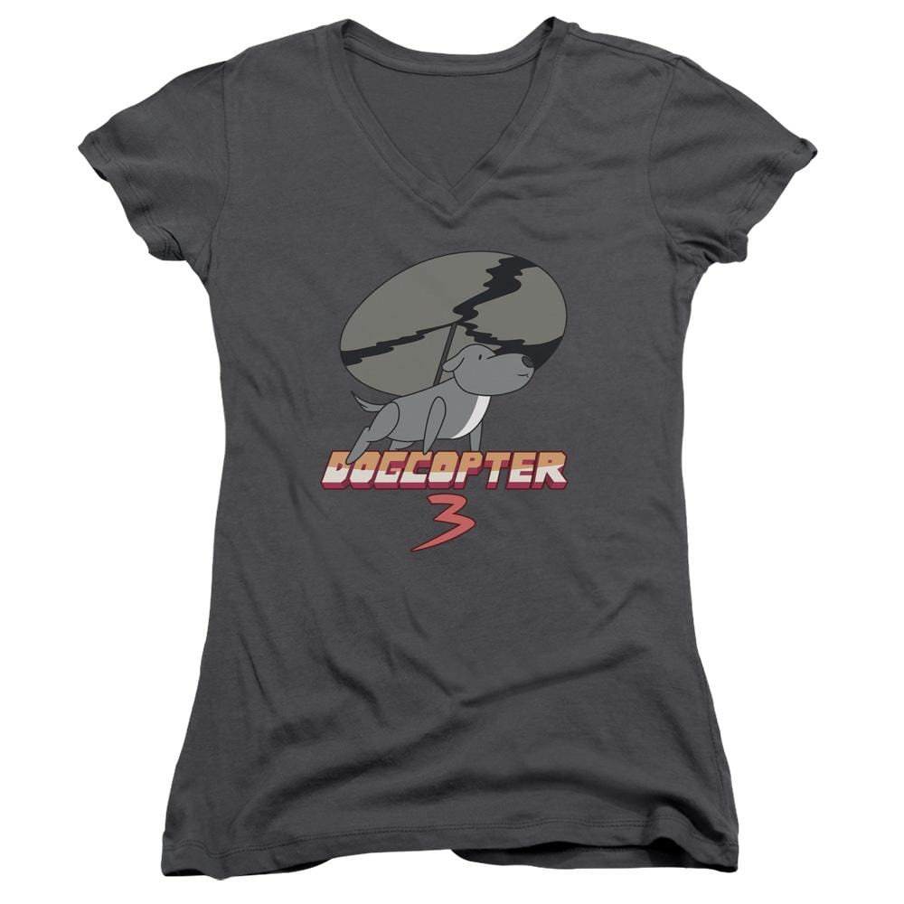Steven Universe - Dogcopter 3 Junior V-Neck T-Shirt
