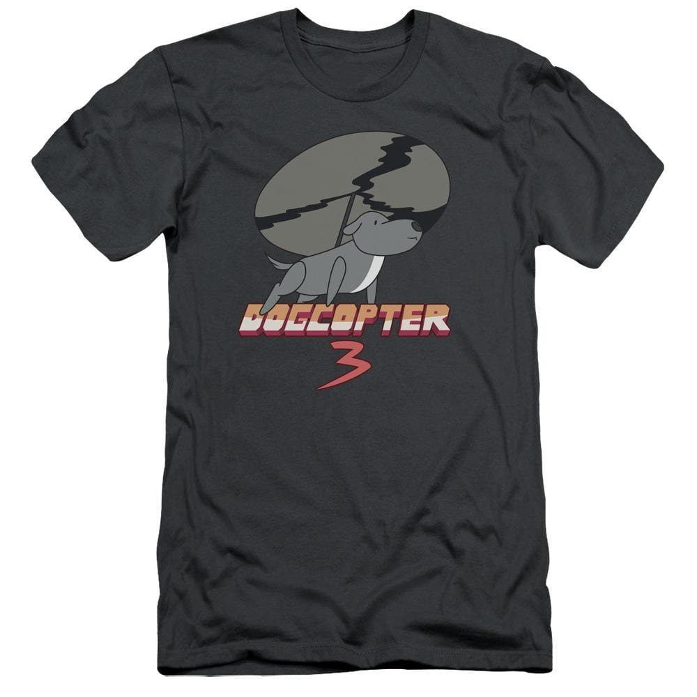 Steven Universe Dogcopter 3 Adult Slim Fit T-Shirt