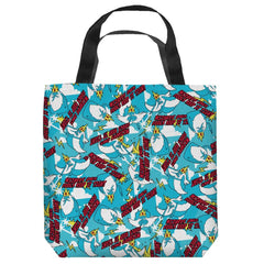 Adventure Time - Ik Pattern Tote Bag