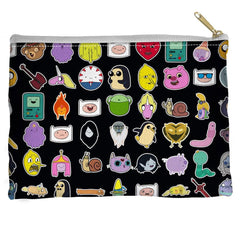 Adventure Time - Stickers Straight Bottom Pouch