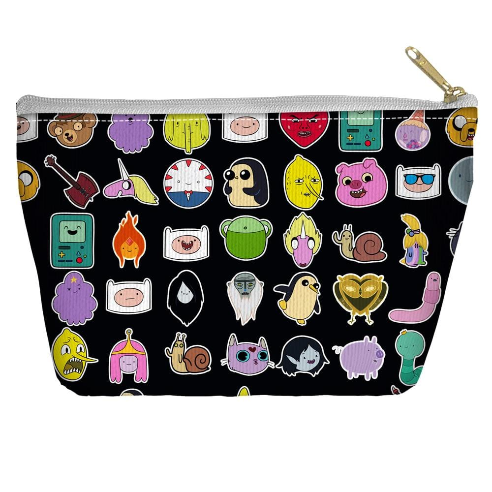 Adventure Time - Stickers Tapered Bottom Pouch