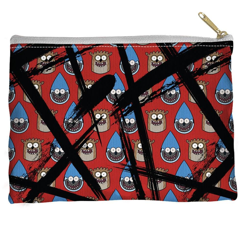 Regular Show - Head Crossout Straight Bottom Pouch