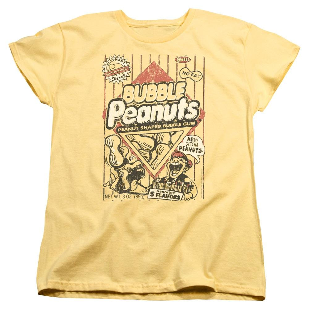 Dubble Bubble Bubble Peanuts Women's T-Shirt