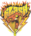 The Flash Blazing Speed Juniors T-Shirt