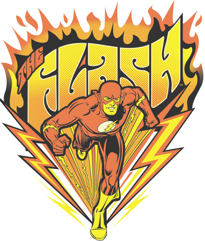 The Flash Blazing Speed Men's Long Sleeve T-Shirt