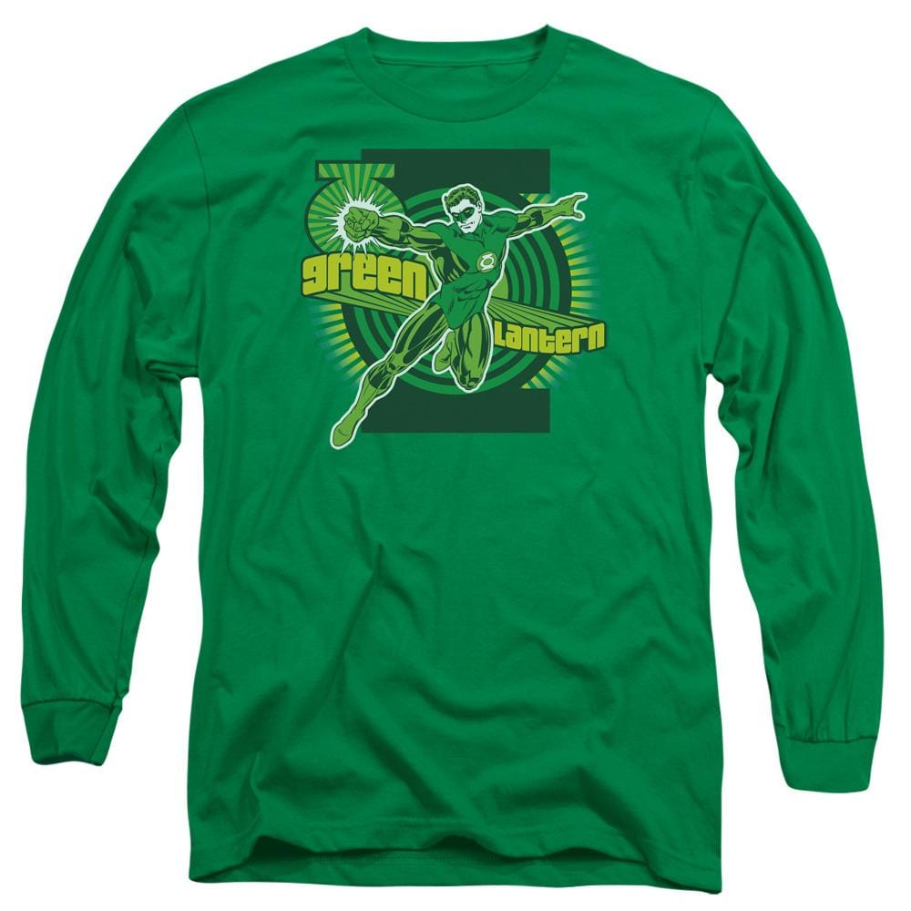 Dc Green Lantern Adult Long Sleeve T-Shirt