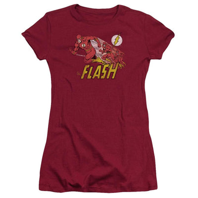 The Flash Crimson Comet Juniors T-Shirt