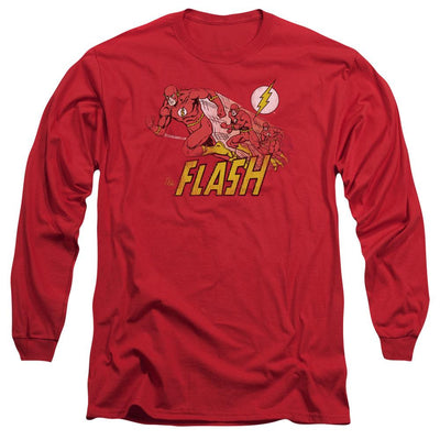 The Flash Crimson Comet Men's Long Sleeve T-Shirt