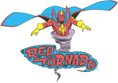 Justice League Red Tornado Men's Regular Fit T-Shirt