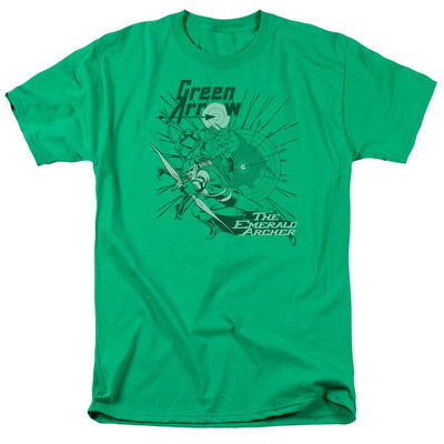 DC Comics The Emerald Archer Men's Regular Fit T-Shirt