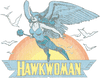 DC Comics Hawkwoman Men's Heather T-Shirt
