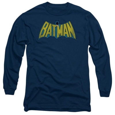 DC Comics Classic Batman Logo Men's Long Sleeve T-Shirt
