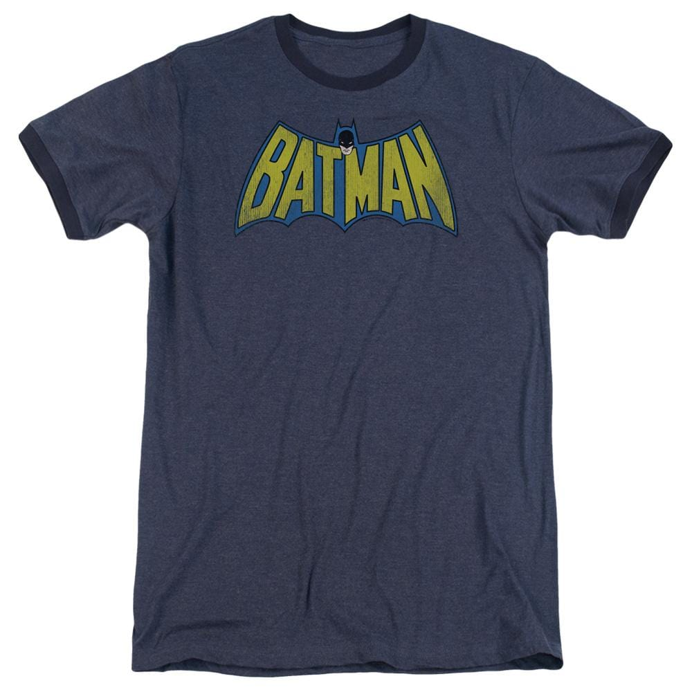 91fac829 DC Comics Classic Batman Logo Men's Ringer T-Shirt - Sons of Gotham