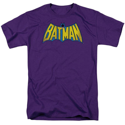 DC Comics Classic Batman Logo Distressed Men's Regular Fit T-Shirt