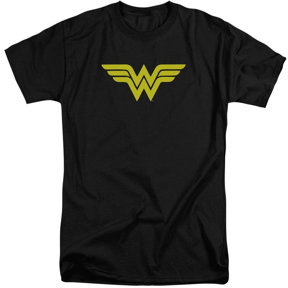 Dc Wonder Woman Logo Adult Tri-Blend T-Shirt