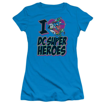 DC Comics I Heart Dc Juniors T-Shirt