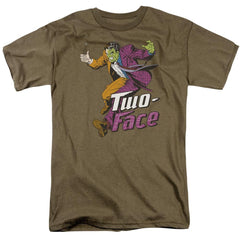 Dc Two Face Adult Regular Fit T-Shirt