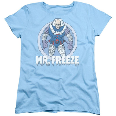 DC Comics Mr Freeze Women's T-Shirt