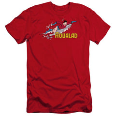 Dc Aqualad Premium Adult Slim Fit T-Shirt